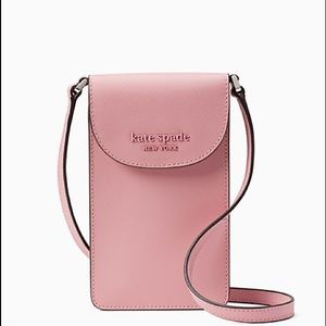 ♠️Kate Spade Monotone NS Flap Phone Crossbody Bag